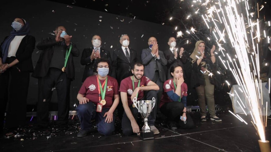 AASTMT team won the Africa and Arab Collegiate Programming Championship