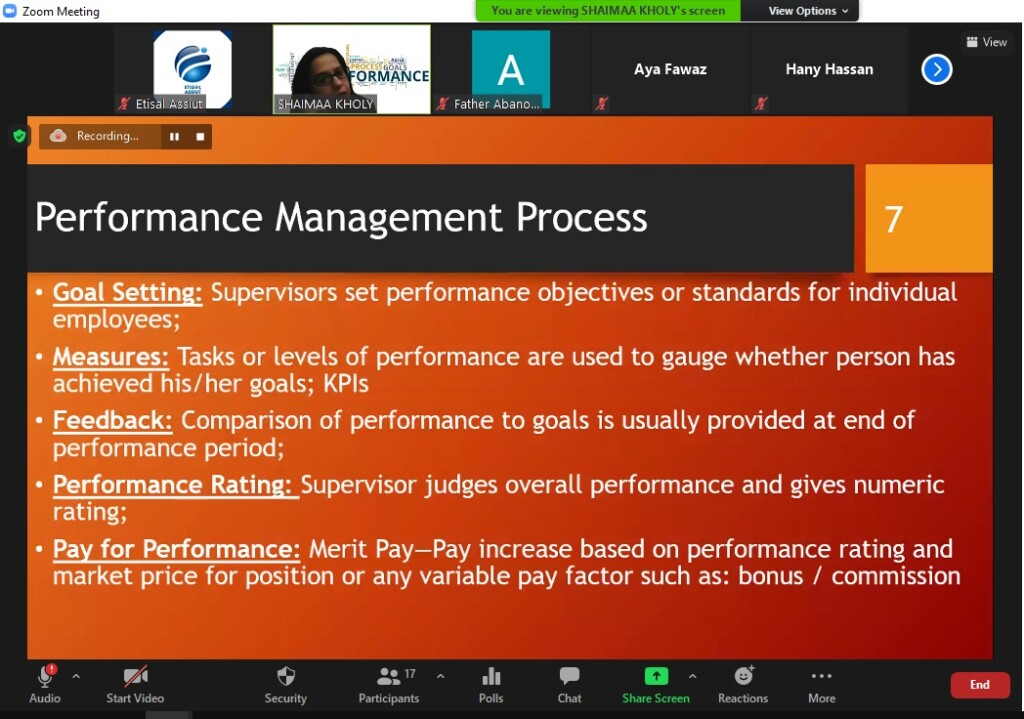 Performance management for managers – Day7